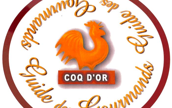Coq D'or Guide des Gourmands 2014-2020