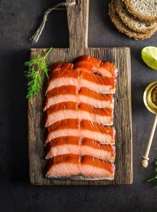 Honey Roast Salmon