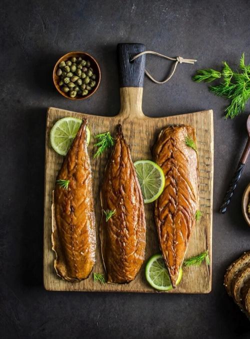 wild smoked mackerel
