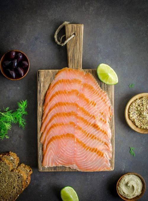 Organic Salmon 500g plated