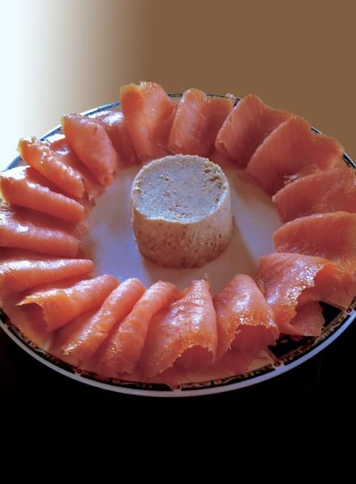 Plated-Salmon Platter