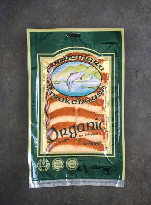 Roast Smoked Salmon packaged