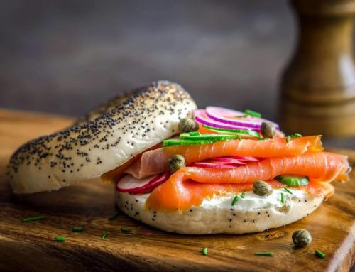 Smoked Salmon Bagel Breakfast Recipe