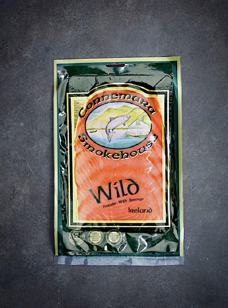 wild smoked salmon