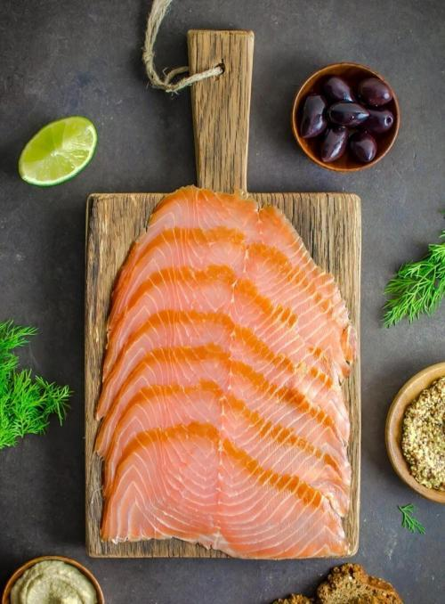 Wild smoked Sliced Salmon 200g