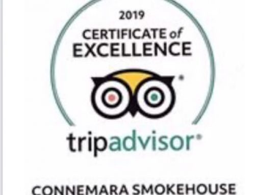 Connemara Smokehouse earns Tripadvisor Certificate of Excellence (2019)