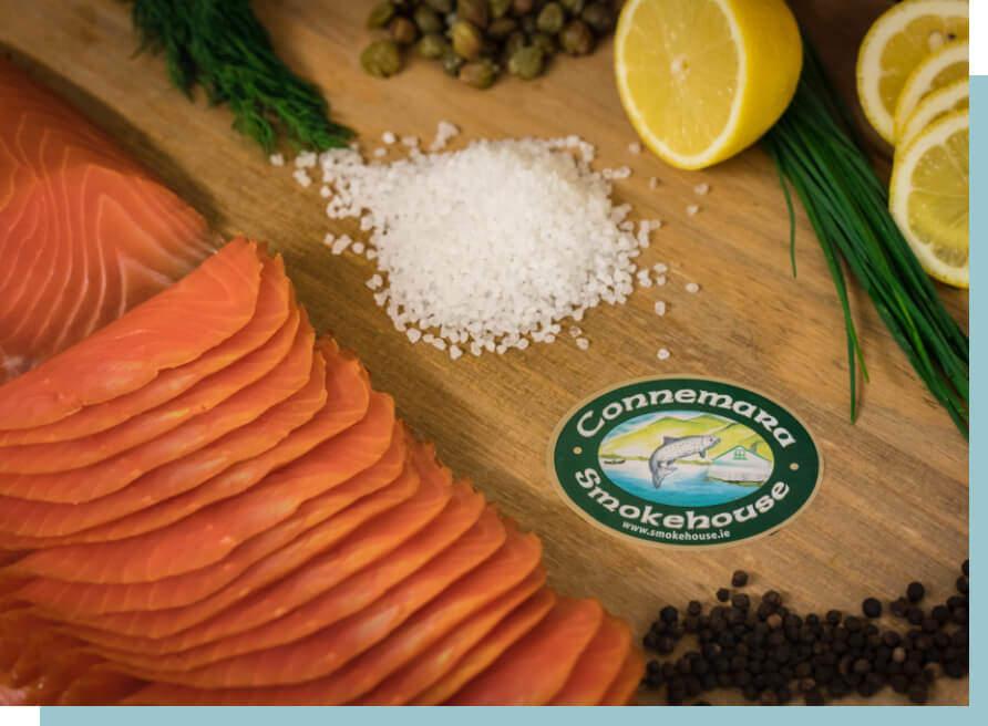 wild organic smoked salmon