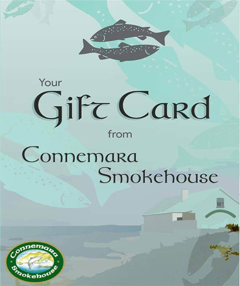 Gift cards from Connemara Smokehouse Ireland